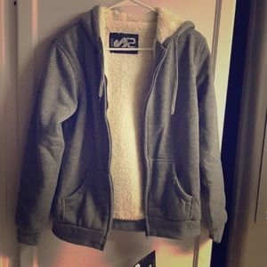 Other - S2 Sportswear Gray Poly Jacket L